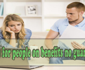 Loans for people on benefits no guarantor, loans for bad credit no guarantor instant decision
